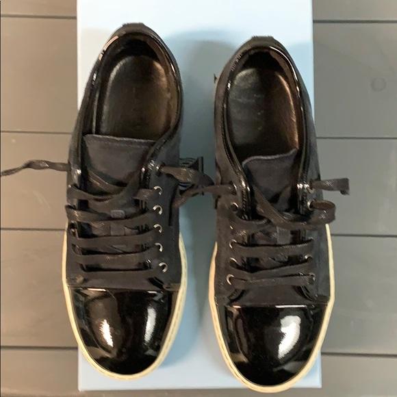 Lanvin Shoes   Lanvin Captoe Suede And